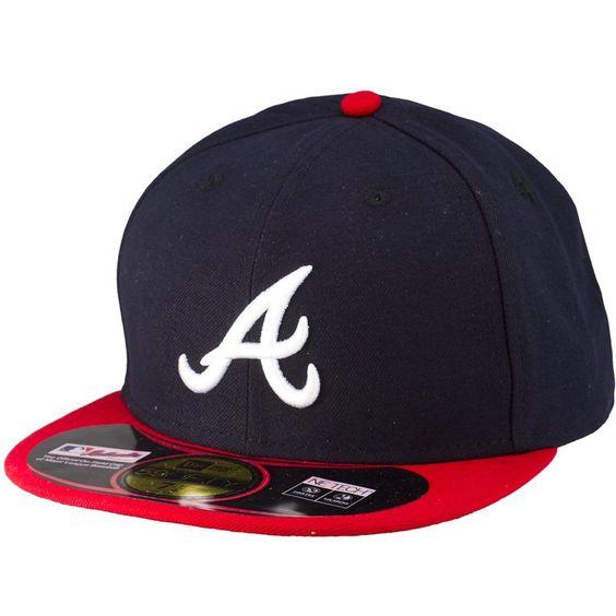 New Era Authentic 59Fifty Cap Atlanta Braves