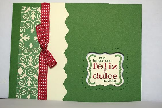 Designed by maryross: Ideas para tarjetas navideñas. christmas card ideas, made with christmas punch from stampin up