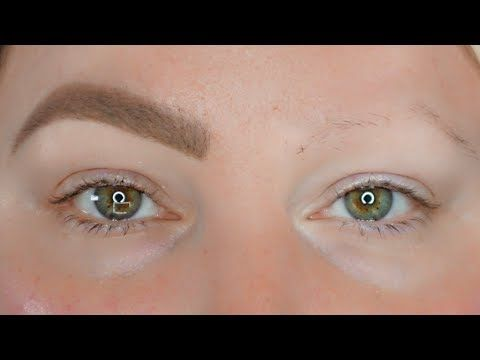 In Depth Eyebrow Tutorial For Sparse Brows For Beginners Updated
