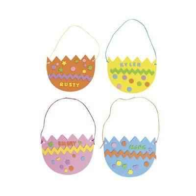 Thumbprint Easter Egg Craft - Fun Handprint Art