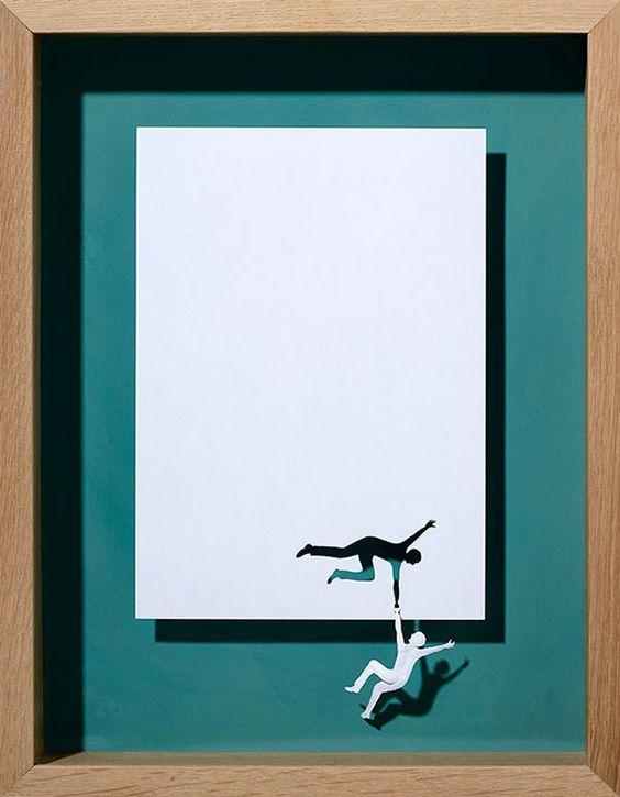 20 incroyables sculptures découpées dans une simple feuille de papier |