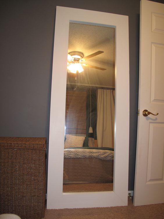 Sliding Mirror Closet Door Diy Tutorial D I Y H