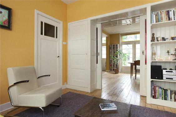 Kamer en Suite met glas in lood deuren en kasten Gouda   Foto u0026#39;s [funda]   Kamer en suite jaren