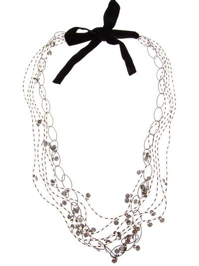 MARIA CALDERARA Resin Beaded Necklace