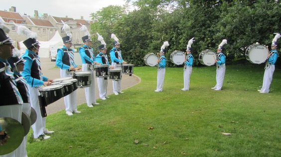 Stafford Lancers, American Style Marching Band, Drumline UK