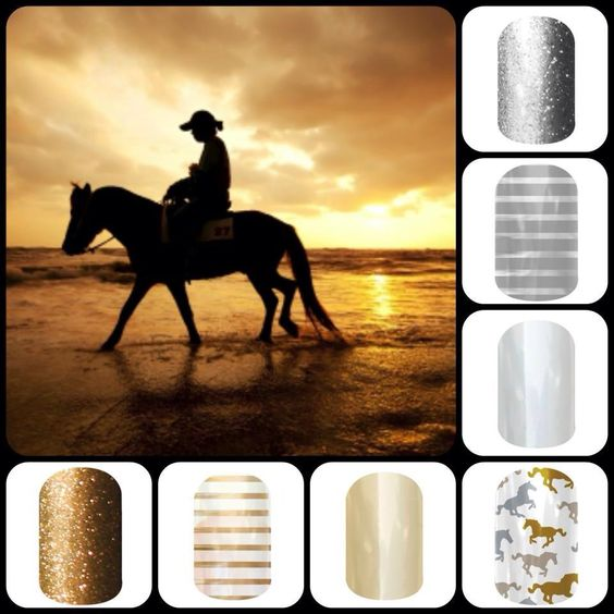 Do you love horses? Show it off with your Jamberry nails. You can be rough and tough, but still look like a girl! https://tracie.jamberrynails.net