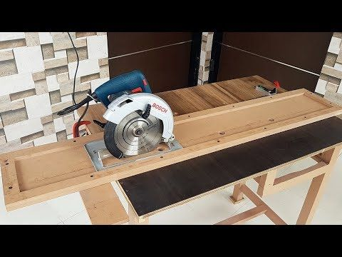 Diy Track Saw Guide For Standard Circular Saw By Mike Montgomery Modern Builds Best Circular Saw Circular Saw Woodworking Saws