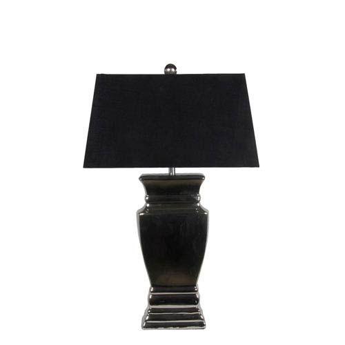 Privilege Black Ceramic One Light Table Lamp 85015 In 2020