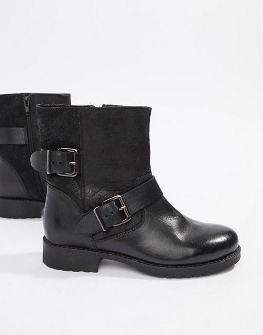 RULER Black Strappy Pull On w//Ankle Zipper Casual Dress Boots NEW Women/'s S.O