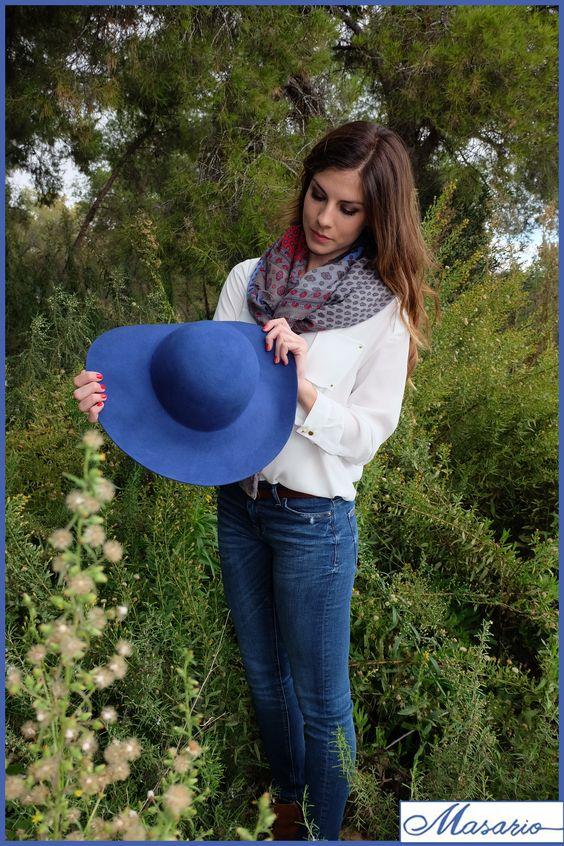Sombrero Floppy, disponible en nuestra web junto #FlamingoInLove: http://masario.es/es/familia.aspx?seccion=catalogo&id=723 #sombrero #materialesparatocados