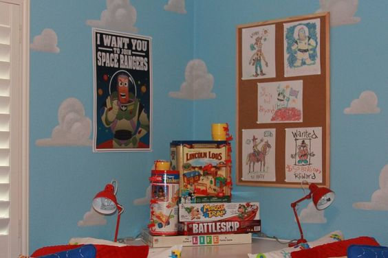 Mom Recreates Andy S Room From Toy Story To Give Twin