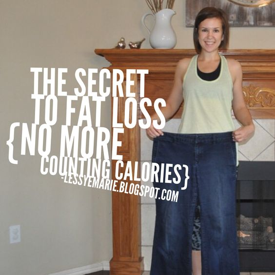 The Secret to Fat Loss; Part 3 {No More Counting Calories}