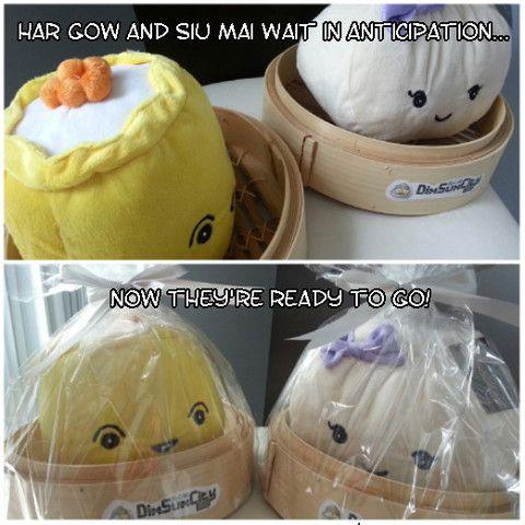 Kawaii dim sum dumpling plushies