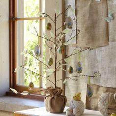 Ostern Baum Herzstück-Ostern deko