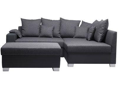 canap d 39 angle droit pouf cocoon prix promo soldes. Black Bedroom Furniture Sets. Home Design Ideas