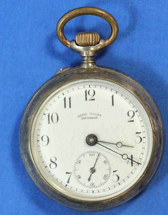 relogio 1895 1 - RELÓGIO COMEMORATIVO DA INAUGURAÇÃO DO CAMINHO DE FERRO LOURENÇO MARQUES-PRETÓRIA, 1895 - A face do relógio.