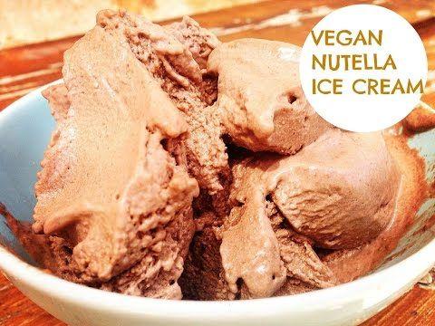 Como hacer helado de Nutella - YouTube