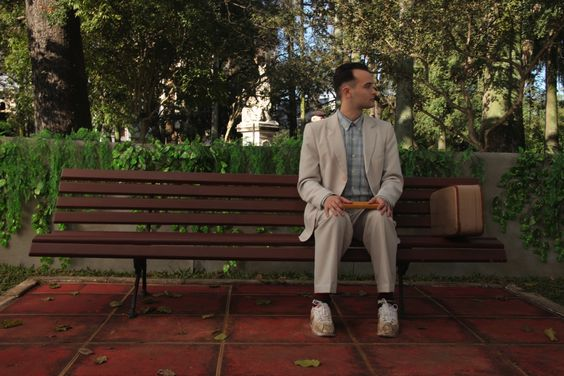 "Forrest Gump ""Life was like a box of chocolates. You never know what you're gonna get."":"