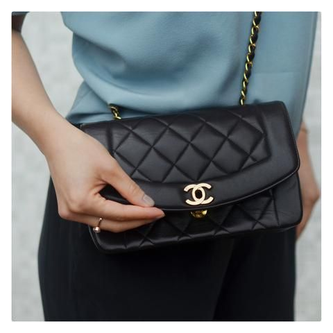 Chanel Diana Flap Bag Vintage Chanel Bag Chanel Handbag Boy Chanel Bag