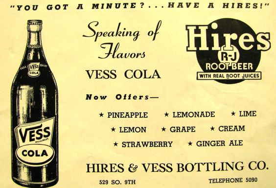 Hires+%26+Vess+Bottling%2C+1950.JPG (1193×814)