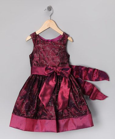 Take a look at this Berry Heart Dress - Toddler & Girls by Cinderella Couture on #zulily today!