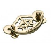 Brass Cabinet Handle 88 x 45mm