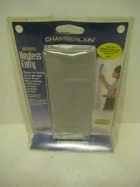 New Chamberlain 940d Wireless 315 Keypad Iel940d Garage Door Opener Control Nib Chamberlain Garage Door Opener Garage Doors Door Opener