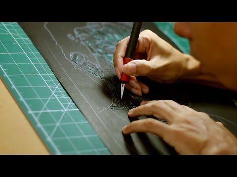 Thiago Fernandes - Autorretrato - Jianzhi / Papercut - YouTube