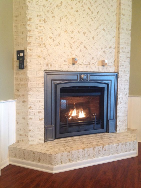 Valor 534iln Horizon Log Fire Gas Direct Vent Fireplace Or Insert Installed With Fenderfire