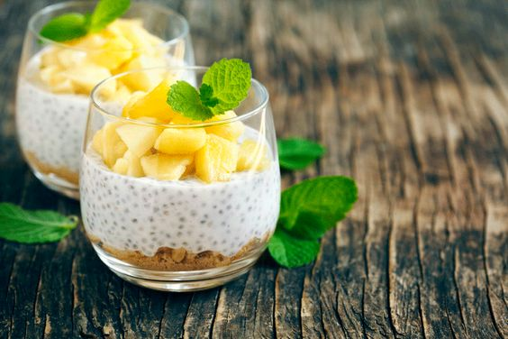 Jorge Cruise's Coconut Chia Pudding: Wake up your vegan diet with this chia pudding recipe to get the full benefits out of your breakfast.