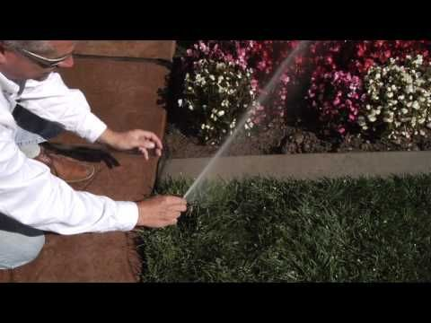 Rotor Series: Adjusting my Hunter Sprinkler System Rotors