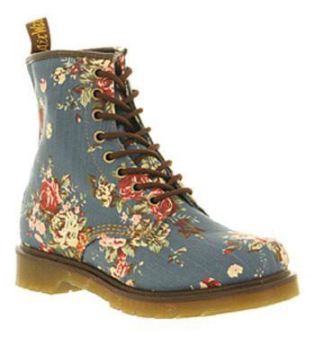 Doctor Martin Shoes Floral Uk