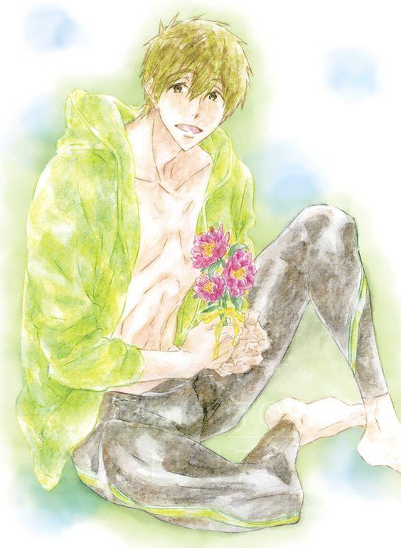 お花と橘真琴