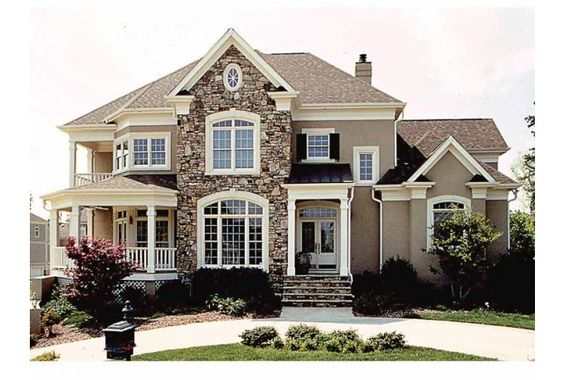 Eplans New American House Plan - Master Suite Is Dream Come True - 4528 Square Feet and 4 Bedrooms(s) from Eplans - House Plan Code HWEPL09001