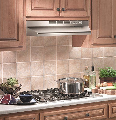 Amazon Com Broan 413004 Ada Capable Non Ducted Under Cabinet Range Hood 30 Inch Stainless Steel Appliances Range Hood Under Cabinet Range Hoods Broan