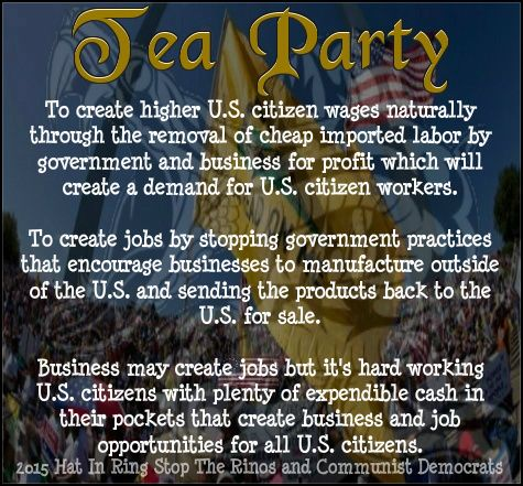 Find Out Who The Tea Party Really Is. Read More:  http://teapartywhitehouse.proboards.com/board/74/tea-party-who: