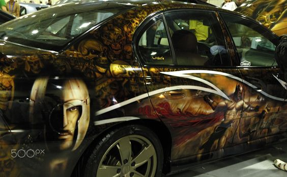 Disguise art car