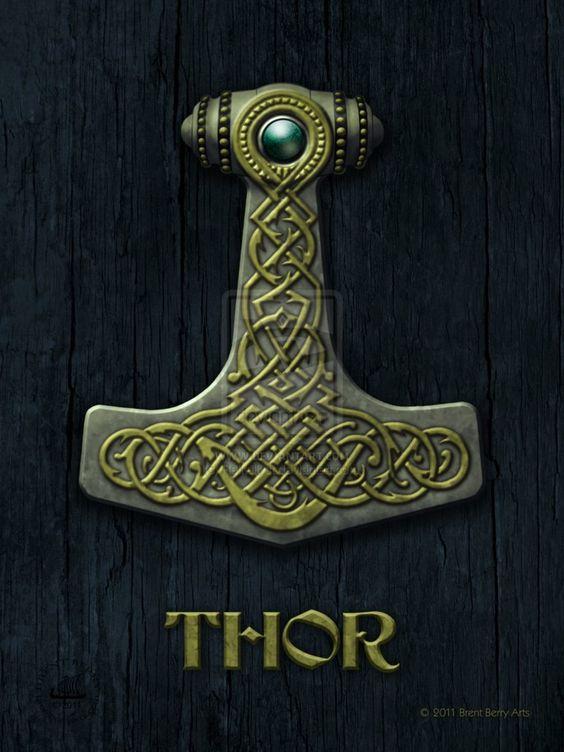 thor 39 s hammer vikings 100 pinterest thors hammer and