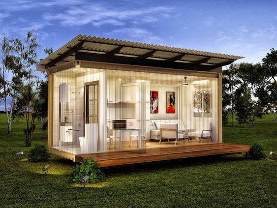 germany tiny cottages monaco single bedroom granny flats prefab modular home tiny houses. Black Bedroom Furniture Sets. Home Design Ideas