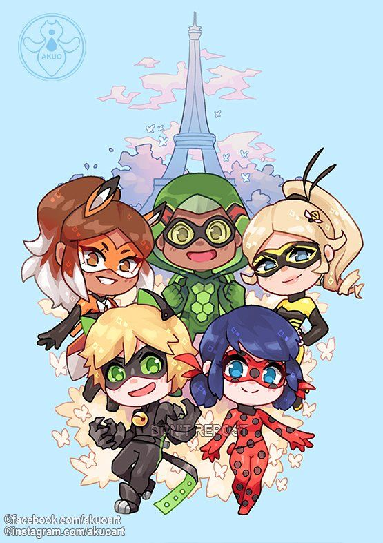 Image result for miraculous cute fanart