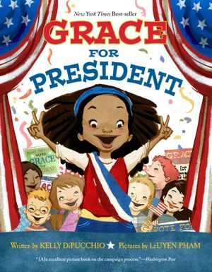 Grace for President - After finding out there has never been a female U.S. president, Grace decides to run in her school's mock election, where she learns about the American electoral system and sets out to be the best person for the job even though her opponent, Thomas, seems to be winning all the boys' votes.