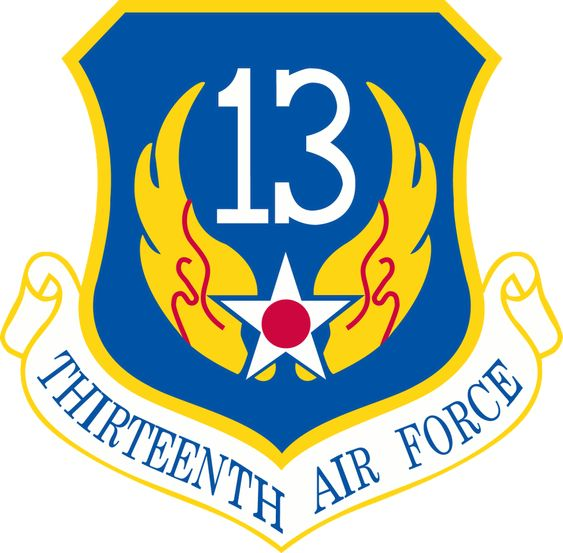 13th Air Force, Andersen Air Force Base Guam. Formerly Headquartered at Clark Air Base in the Philippines, they were relocated to Andersen after Pinatubo erupted. As the Base Finance Officer and Interim Controller, I supported the 13AF Commander.
