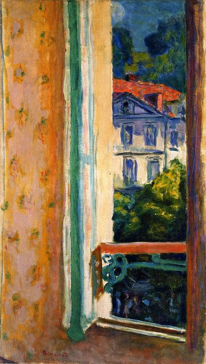 Pierre bonnard kleurenpalet pinterest beautiful for Pierre bonnard la fenetre ouverte