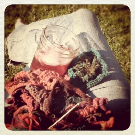 want to crochet and knit.  photo by Terri Fischer