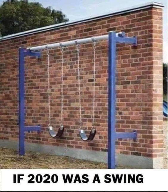 Funny Friday If 2020 Was A Swing Https Www Happyhealthyandprosperous Com Funny Friday If 2020 Was A Swing Friday Humor Funny Memes Memes