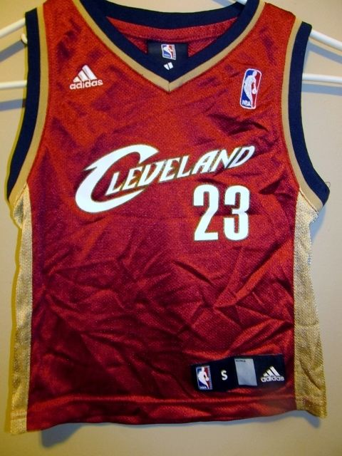 Lebron James Cleveland Cavaliers jersey , Toddler 4T - Basketball