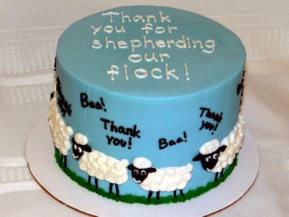 pastor appreciation cake decorating ideas