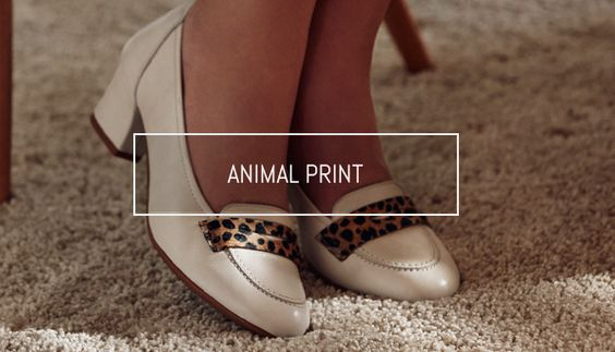 Animal Print. Sabrinas presenta la tendencia animal. // Animal Print: Sabrinas introduce you the animal trend. #Sabrinas #AnimalPrint #Blog #Trend #Ballerines #MadeinSpain #SS14