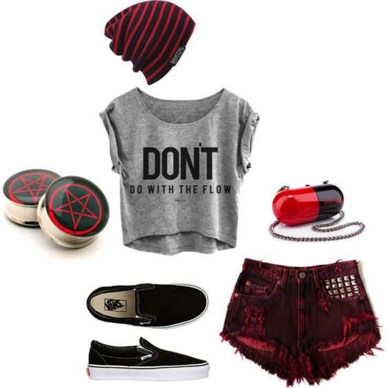 Best ideas about Emo Summer Outfits Teens Outfits and Cool Outfits on Pinterest | The shorts ...