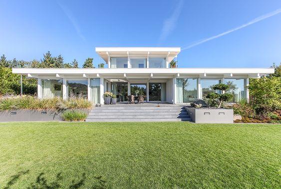 Haustraum Mit Wohlfuhlfaktor Davinci Haus Haus Haus Architektur Traumhaus Plane